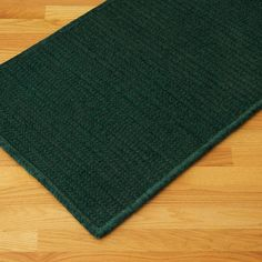 Colonial Mills Solid Chenille Rectangle Dark Green Kids / Juvenile Rug - SC69