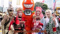 Tokyo Halloween Costume Street Party 2016