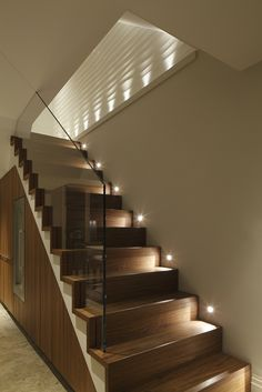Lansdowne Road 61 LR (87) Stairway Lighting, Lighting Design, Staircase  Design,