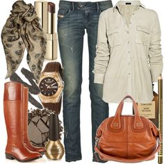 I LOVE this outfit and would wear this!!! I just can't ever find boots (especially riding boots) that fit my fat legs :-(