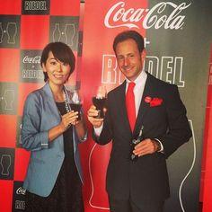 Maximilian Riedel at the Coca-Cola + Riedel launch party