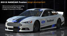 Ford 2013 Nascar Fusion design development