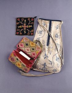 Pocket | Personal Carrying & Storage Gear | 1991.1425 -- Historic New England