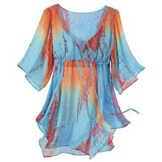 Sun and Sky top.  I wish I had the body/courage to wear this.  $69.95