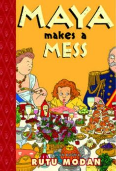 Maya Makes a Mess: TOON Level 2 by Rutu Modan http://www.amazon.com/dp/1935179179/ref=cm_sw_r_pi_dp_ge6cxb0QYM9Z1