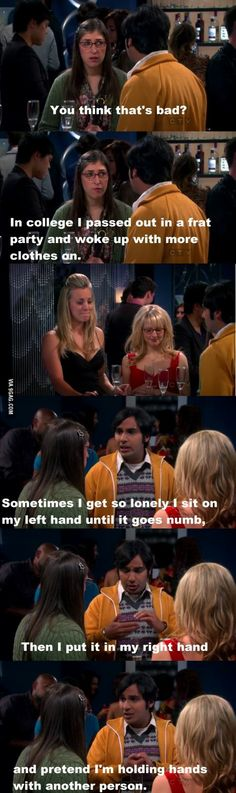 Dammit Raj, you win! #BigBangTheory