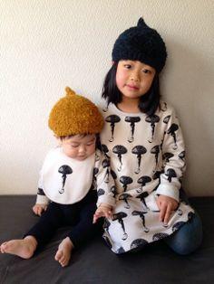 mushroom children clothes