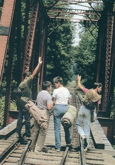 Stand By Me- I've never had friends later on like the ones when I was 12. Jesus, does anyone