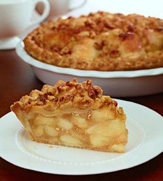 Apple Caramel Walnut Pie