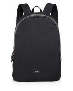 ae014509c88a1 Paul Smith Canvas and Leather Detail Backpack Men - Bloomingdale s