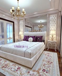 Image may contain: 1 person, indoor Hotel Room Design, Luxury Bedroom Design, Master Bedroom Design, Interior Design, Bedroom Sets, Home Decor Bedroom, Bedding Sets, Elegant Home Decor, Dream Rooms