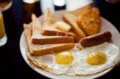 O café da manhã dos campeões :D