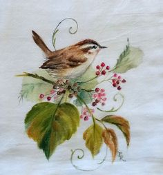 Your place to buy and sell all things handmade Bird Paintings, Watercolor Paintings, Painted Birds, Hand Painted, Animal 2, Peacock Tattoo, Rose Colored Glasses, Caligraphy, Chinese Painting