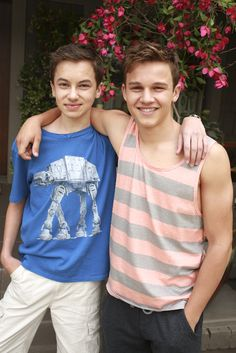 Hayden Byerly and Gavin MacIntosh
