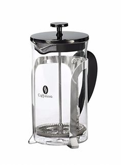 Caffeina French Press with Broad Grip Handle for Easy Pouring Makes Gourmet Tasting Coffee Every Time >>> Want to know more, click on the image.  This link participates in Amazon Service LLC Associates Program, a program designed to let participant earn advertising fees by advertising and linking to Amazon.com.