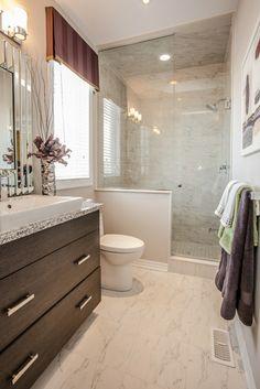 Model homes bathrooms
