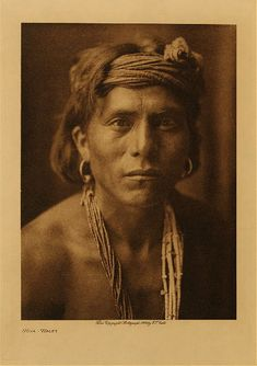 Nova-Walpi, vintage Photogravure by Edward S. Curtis. (Probably Hopi since he's from Walpi, AZ which is near Second Mesa) - could be Navajo too since that region borders  Navajo lands.
