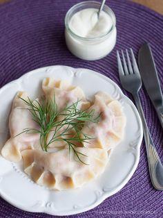 Archiwa: DANIA OBIADOWE - Każdy ma jakiegoś bzika - Pieguskowa kuchnia Pierogi, Soup, Vegetarian, Dishes, Ethnic Recipes, Tablewares, Soups, Dish, Signs