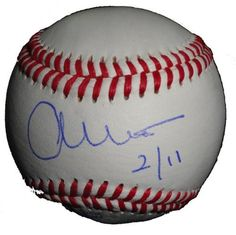 """Los Angeles Angels of Anaheim Angels Owner Arte Moreno Autographed ROLB Baseball, Proof Photo by Southwestconnection-Memorabilia. $34.99. This is a Arte Moreno autographed Rawlings official league baseball with """"2/11"""" date inscription! Arte signed the ball in blue ballpoint pen. Check out the photo of Arte signing for us. Proof photo is included for free with purchase. Please click on images to enlarge."""