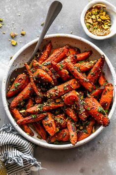 Carrot Recipes, Easy Healthy Recipes, Diet Recipes, Cooking Recipes, Healthy Meals, Healthy Eating, Roasted Sweet Potatoes, Side Dish Recipes, Salads