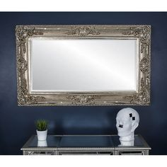 Astoria Grand Add a touch of antique elegance to your interior with the striking Islington Mirror available in two rich colours. The level of detail to the frame makes this an exquisite piece fitting for the grandest of interiors. Leaner Mirror, Mirror Set, Full Length Mirror, Overmantle Mirror, Ornate, Bar Mirror, Interior, Redo Mirror, Mirror