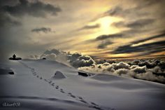 Walking on Clouds by ehsan , via 500px
