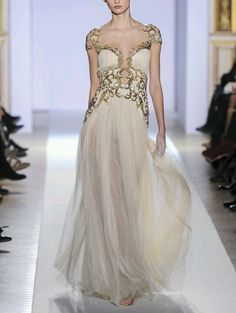 Zuhair Murad SS 2013 ~ Look at the pretty patterns. *_*
