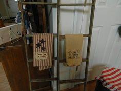 Primitive Tobacco Stick Ladders (3)
