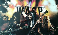 W.A.S.P.  Pack of Animals ;)  #RandyPiper #BlackieLawless #ChrisHolmes #wasp