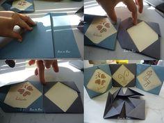 Porta retratos de origami