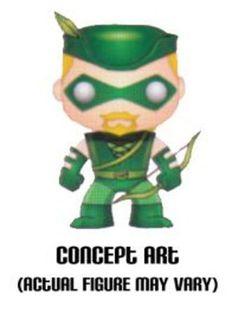 Amazon.com: Funko POP Heroes Vinyl - Green Arrow: Toys & Games