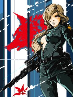 Metal Gear Solid - Sniper Wolf