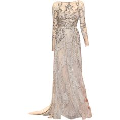 Elie Saab - edited by mlleemilee ❤ liked on Polyvore featuring dresses, gowns, long dresses, vestidos, elie saab ball gown, brown dress, elie saab evening dresses and brown gown