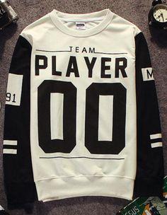4317f04fa8b0 White Baseball Style Printed Slim Sweatshirt Breaking Bad, Sweater Hoodie,  Mens Sweatshirts, Winter