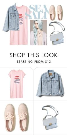 """""""tshirt"""" by zozanazozane ❤ liked on Polyvore featuring Gap and Hollister Co."""