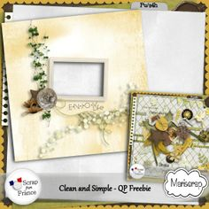 Collab clean and simple at SFF | QP offered by Caroline Scrap on her blog