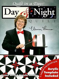 night and day quilt | Booktopia - Day and Night Quilt by Eleanor Burns, 9781891776328. Buy ...