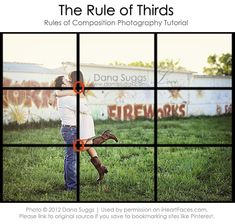"""Learn how the """"Rule of Thirds"""" can make your photos more visually appealing!  {via iHeartFaces.com}"""