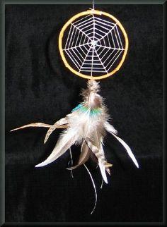 Spiderweb dreamcatcher :)