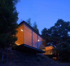 Nature Inspired Tea Houses Cantilevered Over The Valley