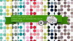 Crazy Summer Papers Dot Vol 1 by Debora's Creations (CU)