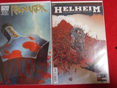 RAGNAROK & HELHEIM IDW & ONI COMICS COLLECTIBLE COMIC BOOKS mythology