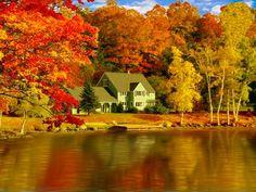 Fall colors; beautiful.