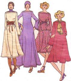 1970s Betsey Johnson Butterick Sewing Pattern 4426 by CloesCloset, $30.00