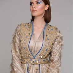 The Bey's kaftan Moroccan Caftan, Moroccan Style, Caftan Dress, Traditional Outfits, Pretty Outfits, 3 D, Dressing, Glamour, Clothes For Women