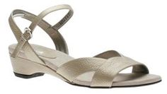 Ros Hommerson Bliss Platino H-34642 Women's Sandal Shoes   Walking On A Cloud