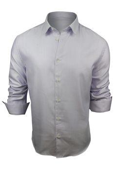 47c8308c3737 Versace Men s Light Purple Dress Shirt