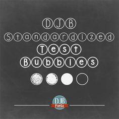 Image for DJB Standardized Test font