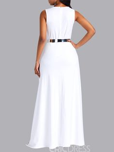 Ericdress Overlay Embellished Plain Slim Patchwork Women's Jumpsuit(Without Waistband) African Inspired Clothing, Casual Dresses, Fashion Dresses, Wedding Dress Sleeves, White Fashion, Jumpsuits For Women, African Fashion, Stylish Outfits, Dress Patterns