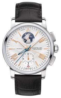 4ed96a37a6b75 Montblanc 4810 TwinFly Chronograph Edição 110 Anos Relógios Masculinos,  Relógios Legais, Melhores Relógios Para